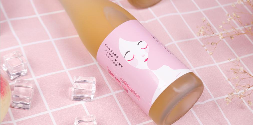 醉香田水蜜桃米酒